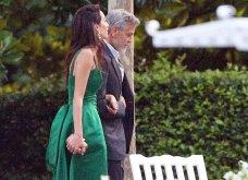 Όταν ο George Clooney κρατάει αγκαζέ την εκθαμβωτική  Amal & πάει σε ρομαντικό δείπνο στη Λίμνη του Κόμο (φώτο) - Κυρίως Φωτογραφία - Gallery - Video 5