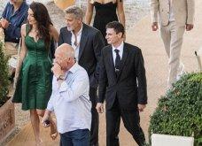 Όταν ο George Clooney κρατάει αγκαζέ την εκθαμβωτική  Amal & πάει σε ρομαντικό δείπνο στη Λίμνη του Κόμο (φώτο) - Κυρίως Φωτογραφία - Gallery - Video 7