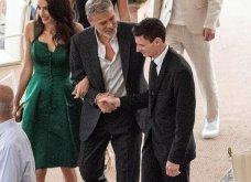 Όταν ο George Clooney κρατάει αγκαζέ την εκθαμβωτική  Amal & πάει σε ρομαντικό δείπνο στη Λίμνη του Κόμο (φώτο) - Κυρίως Φωτογραφία - Gallery - Video 9