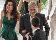 Όταν ο George Clooney κρατάει αγκαζέ την εκθαμβωτική  Amal & πάει σε ρομαντικό δείπνο στη Λίμνη του Κόμο (φώτο) - Κυρίως Φωτογραφία - Gallery - Video 16