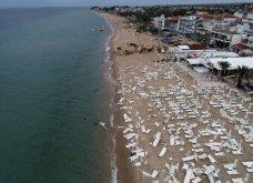 «Βομβαρδισμένο» τοπίο η Χαλκιδική – Εικόνες αποκάλυψης από drone - Κυρίως Φωτογραφία - Gallery - Video