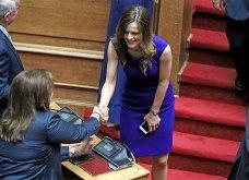 Ορκωμοσία της νέας Βουλής: Αυτές οι κυρίες ξεχώρισαν με τις ενδυματολογικές τους επιλογές (φωτό) - Κυρίως Φωτογραφία - Gallery - Video 19