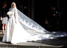Aυτά είναι τα πιο εντυπωσιακά νυφικά που φόρεσαν διάσημες του Hollywood & Πριγκίπισσες - Θα μείνουν σίγουρα στην ιστορία (φωτό) - Κυρίως Φωτογραφία - Gallery - Video 21