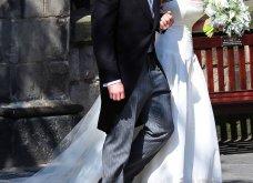 Aυτά είναι τα πιο εντυπωσιακά νυφικά που φόρεσαν διάσημες του Hollywood & Πριγκίπισσες - Θα μείνουν σίγουρα στην ιστορία (φωτό) - Κυρίως Φωτογραφία - Gallery - Video 28