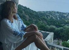 Παραδοσιακό, όμορφο και τέλεια διακοσμημένο το υπέροχο σπίτι της Τζένης Μπαλατσινού στην Πάτμο - Δείτε το (φώτο) - Κυρίως Φωτογραφία - Gallery - Video