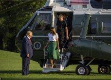 Μελάνια Τραμπ: Οι βαλίτσες , βαλιτσάκια νεσεσέρ Louis Vuitton & οι  φλόραλ Louboutin γόβες στιλέτο (φώτο-βίντεο)  - Κυρίως Φωτογραφία - Gallery - Video 5