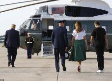 Μελάνια Τραμπ: Οι βαλίτσες , βαλιτσάκια νεσεσέρ Louis Vuitton & οι  φλόραλ Louboutin γόβες στιλέτο (φώτο-βίντεο)  - Κυρίως Φωτογραφία - Gallery - Video 7