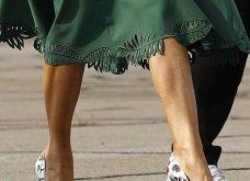 Μελάνια Τραμπ: Οι βαλίτσες , βαλιτσάκια νεσεσέρ Louis Vuitton & οι  φλόραλ Louboutin γόβες στιλέτο (φώτο-βίντεο)  - Κυρίως Φωτογραφία - Gallery - Video 9