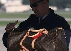Μελάνια Τραμπ: Οι βαλίτσες , βαλιτσάκια νεσεσέρ Louis Vuitton & οι  φλόραλ Louboutin γόβες στιλέτο (φώτο-βίντεο)  - Κυρίως Φωτογραφία - Gallery - Video 15
