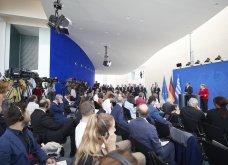 Μητσοτάκης – Μέρκελ στο Βερολίνο: Πρώτα η αξιοπιστία και μετά συζήτηση για τα πλεονάσματα (φωτό & βίντεο) - Κυρίως Φωτογραφία - Gallery - Video 5