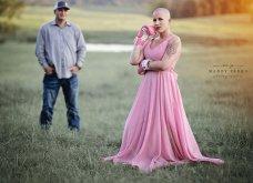 Ο σύζυγος με  δάκρυα στα μάτια κόβει τα μαλλιά της γυναίκας του & την προετοιμάζει για τη χημειοθεραπεία που ξεκινάει λόγω καρκίνου (φώτο) - Κυρίως Φωτογραφία - Gallery - Video 17