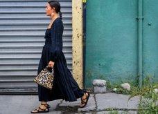 Street style: Αυτά τα υπέροχα φορέματα ήρθαν για να μείνουν - Θα τα φορέσουμε & το φθινόπωρο (φώτο) - Κυρίως Φωτογραφία - Gallery - Video 3