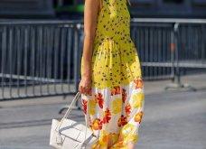 Street style: Αυτά τα υπέροχα φορέματα ήρθαν για να μείνουν - Θα τα φορέσουμε & το φθινόπωρο (φώτο) - Κυρίως Φωτογραφία - Gallery - Video 5