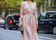 Street style: Αυτά τα υπέροχα φορέματα ήρθαν για να μείνουν - Θα τα φορέσουμε & το φθινόπωρο (φώτο) - Κυρίως Φωτογραφία - Gallery - Video 6
