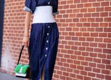 Street style: Αυτά τα υπέροχα φορέματα ήρθαν για να μείνουν - Θα τα φορέσουμε & το φθινόπωρο (φώτο) - Κυρίως Φωτογραφία - Gallery - Video 14