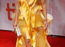 Η Τζένιφερ Λόπεζ μέσα στο κίτρινο φόρεμα -υπερπαραγωγή με κοντό καρέ μαλλί & πόζες με τον αρραβωνιαστικό (φώτο) - Κυρίως Φωτογραφία - Gallery - Video 2