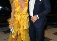 Η Τζένιφερ Λόπεζ μέσα στο κίτρινο φόρεμα -υπερπαραγωγή με κοντό καρέ μαλλί & πόζες με τον αρραβωνιαστικό (φώτο) - Κυρίως Φωτογραφία - Gallery - Video 4