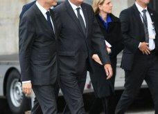 Κηδεία Ζαν Σιράκ: 80 ηγέτες, βασιλιάδες & celebrities -Από τον Μπιλ Κλίντον & τον Πούτιν ως την Σάλμα Χάγιεκ - Όλες οι φώτο & τα βίντεο  - Κυρίως Φωτογραφία - Gallery - Video 32