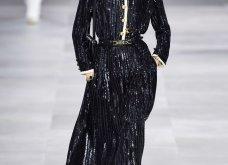 H επίδειξη μόδας της Celine, στο Παρίσι απέδειξε ότι οι Γάλλοι σε ντύνουν σικ ακόμα και με τζιν (φώτο) - Κυρίως Φωτογραφία - Gallery - Video 6