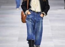 H επίδειξη μόδας της Celine, στο Παρίσι απέδειξε ότι οι Γάλλοι σε ντύνουν σικ ακόμα και με τζιν (φώτο) - Κυρίως Φωτογραφία - Gallery - Video 8