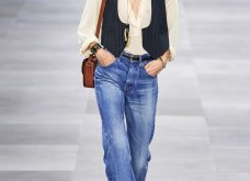 H επίδειξη μόδας της Celine, στο Παρίσι απέδειξε ότι οι Γάλλοι σε ντύνουν σικ ακόμα και με τζιν (φώτο) - Κυρίως Φωτογραφία - Gallery - Video 9