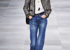 H επίδειξη μόδας της Celine, στο Παρίσι απέδειξε ότι οι Γάλλοι σε ντύνουν σικ ακόμα και με τζιν (φώτο) - Κυρίως Φωτογραφία - Gallery - Video 10