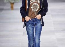 H επίδειξη μόδας της Celine, στο Παρίσι απέδειξε ότι οι Γάλλοι σε ντύνουν σικ ακόμα και με τζιν (φώτο) - Κυρίως Φωτογραφία - Gallery - Video 20