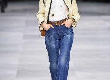 H επίδειξη μόδας της Celine, στο Παρίσι απέδειξε ότι οι Γάλλοι σε ντύνουν σικ ακόμα και με τζιν (φώτο) - Κυρίως Φωτογραφία - Gallery - Video 25