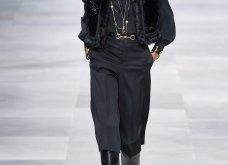H επίδειξη μόδας της Celine, στο Παρίσι απέδειξε ότι οι Γάλλοι σε ντύνουν σικ ακόμα και με τζιν (φώτο) - Κυρίως Φωτογραφία - Gallery - Video 26