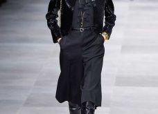 H επίδειξη μόδας της Celine, στο Παρίσι απέδειξε ότι οι Γάλλοι σε ντύνουν σικ ακόμα και με τζιν (φώτο) - Κυρίως Φωτογραφία - Gallery - Video 33