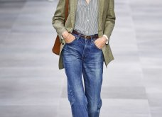 H επίδειξη μόδας της Celine, στο Παρίσι απέδειξε ότι οι Γάλλοι σε ντύνουν σικ ακόμα και με τζιν (φώτο) - Κυρίως Φωτογραφία - Gallery - Video 39