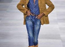 H επίδειξη μόδας της Celine, στο Παρίσι απέδειξε ότι οι Γάλλοι σε ντύνουν σικ ακόμα και με τζιν (φώτο) - Κυρίως Φωτογραφία - Gallery - Video 44