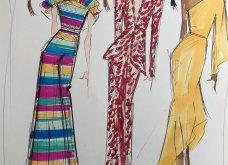 Σπάνιο ντοκουμέντο μόδας: 47 σκίτσα των διασημότερων σχεδιαστών - Εβδομάδα μόδας Νέα Υόρκη (φώτο) - Κυρίως Φωτογραφία - Gallery - Video 7