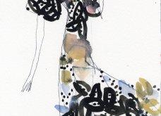 Σπάνιο ντοκουμέντο μόδας: 47 σκίτσα των διασημότερων σχεδιαστών - Εβδομάδα μόδας Νέα Υόρκη (φώτο) - Κυρίως Φωτογραφία - Gallery - Video 36
