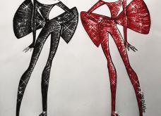 Σπάνιο ντοκουμέντο μόδας: 47 σκίτσα των διασημότερων σχεδιαστών - Εβδομάδα μόδας Νέα Υόρκη (φώτο) - Κυρίως Φωτογραφία - Gallery - Video 42