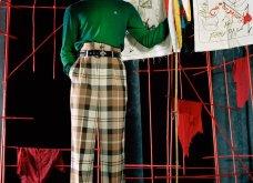 Εβδομάδα Μόδας Λονδίνο: Η γυναίκα της Vivienne Westwood είναι κομψή , δυναμική & επαναστάτρια (φώτο) - Κυρίως Φωτογραφία - Gallery - Video 26