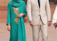 Οι υπέροχες εμφανίσεις της πριγκίπισσας Κέιτ στο επίσημο ταξίδι της στο Πακιστάν - Ο χαμογελαστός Ουίλιαμ στα χνάρια  της μητέρας του (φώτο) - Κυρίως Φωτογραφία - Gallery - Video