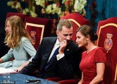 Λάμπει από χαρά η βασίλισσα Λετίσια: Η πανέμορφη κόρη της Ελεονώρα αναλαμβάνει καθήκοντα πριγκίπισσας & απονέμει βραβεία (φώτο-βίντεο) - Κυρίως Φωτογραφία - Gallery - Video 9