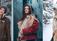 Τι πανωφόρια θα φορεθούν φέτος τον Χειμώνα; Υπέροχα παλτά & μπουφάν σε απίθανα κλικς - Φώτο  - Κυρίως Φωτογραφία - Gallery - Video 4