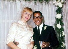 1960: Ο μαύρος Σάμι Ντέιβις παντρεύεται την κατάξανθη Σουηδέζα του May Britt - Σάλος αφού απαγορεύονταν οι γάμοι λευκών με μαύρους (φώτο) - Κυρίως Φωτογραφία - Gallery - Video 2