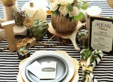 To Elle decor προτείνει26 ιδέεςγια να στολίσετεφθινοπωρινάτο τραπέζι σας - Φώτο - Κυρίως Φωτογραφία - Gallery - Video 8