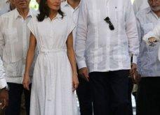 Η γκαρνταρόμπα της Βασίλισσας Λετίσια της Ισπανίας στο ταξίδι της στην Κούβα - Σικ & μεσάτα σύνολα (φώτο) - Κυρίως Φωτογραφία - Gallery - Video