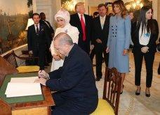 """Συνάντηση Τραμπ- Ερντογάν: Φιλοφρονήσεις & """"μπηχτές"""" - Στα λευκά η Εμινέ - Με σιέλ παλτό 2.295 δολαρίων η Μελάνια (φώτο-βίντεο) - Κυρίως Φωτογραφία - Gallery - Video 8"""