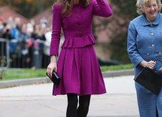 Η Κέιτ Μίντλετον με stylish σιλουέτα απίθανο μοβ σύνολο & λαμπερή εμφάνιση (φώτο)  - Κυρίως Φωτογραφία - Gallery - Video 5