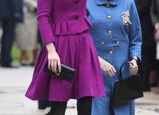 Η Κέιτ Μίντλετον με stylish σιλουέτα απίθανο μοβ σύνολο & λαμπερή εμφάνιση (φώτο)  - Κυρίως Φωτογραφία - Gallery - Video 10