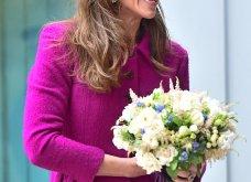 Η Κέιτ Μίντλετον με stylish σιλουέτα απίθανο μοβ σύνολο & λαμπερή εμφάνιση (φώτο)  - Κυρίως Φωτογραφία - Gallery - Video 12