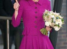 Η Κέιτ Μίντλετον με stylish σιλουέτα απίθανο μοβ σύνολο & λαμπερή εμφάνιση (φώτο)  - Κυρίως Φωτογραφία - Gallery - Video 21