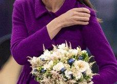 Η Κέιτ Μίντλετον με stylish σιλουέτα απίθανο μοβ σύνολο & λαμπερή εμφάνιση (φώτο)  - Κυρίως Φωτογραφία - Gallery - Video 25