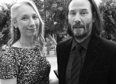 Ο αγαπημένος μας Κιάνου Ριβς 55αρησε & βρήκε τον έρωτα σε μια 46αρα που δεν βάφει τα μαλλιά της - Ε και; - Επιτέλους χαμογελάει! (φώτο) - Κυρίως Φωτογραφία - Gallery - Video 7