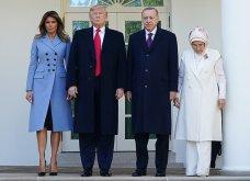 """Συνάντηση Τραμπ- Ερντογάν: Φιλοφρονήσεις & """"μπηχτές"""" - Στα λευκά η Εμινέ - Με σιέλ παλτό 2.295 δολαρίων η Μελάνια (φώτο-βίντεο) - Κυρίως Φωτογραφία - Gallery - Video 2"""